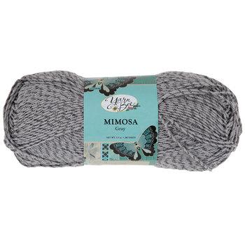 Gray Yarn Bee Mimosa Yarn