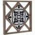 White & Black Tile Wood Wall Decor