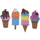 Ice Cream Foam Craft Kit