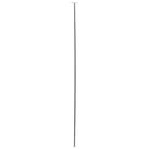 """Sterling Silver Plated Head Pins - 1 1/2"""""""