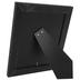 Black Wood Frame With Galvanized Fillet - 8