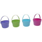 Pastel Mini Easter Baskets