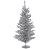 Tinsel Christmas Tree - 2'