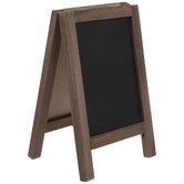 Chalkboard & Whiteboard Easel