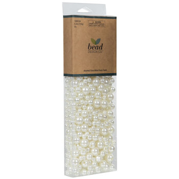 Assorted Plastic Pearl Beads