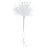 White Tulle & Pearl Pick