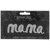 Mama Rhinestone Iron-On Applique