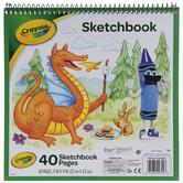 """Spiral Sketch Book - 9"""" x 9"""""""