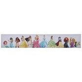 Disney Princess Line Up Canvas Wall Decor