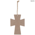 Blessed Confetti Wood Wall Cross