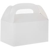 White Gable Boxes
