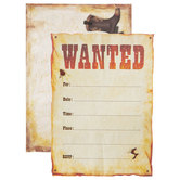 Wanted Invitations