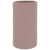 Pink Hobnail Vase