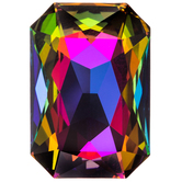 Crystal Vitrail Medium Fancy Octagon Swarovski Stone - 27mm x 18.5mm