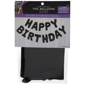 Foil Happy Birthday Balloon Banner