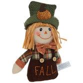 Fall Plush Scarecrow
