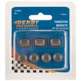 Tungsten Cylinder Incremental Weights