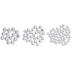 Crystal Swarovski Xirius Flat Back Hotfix Crystals Mix