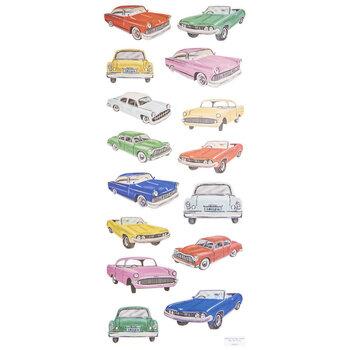 Vintage Car Stickers