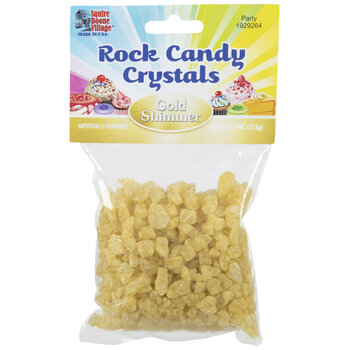 Gold Shimmer Rock Candy Crystals
