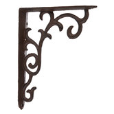 Brown Flourish Metal Bracket