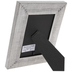 Brushed Silver Beveled Frame - 4
