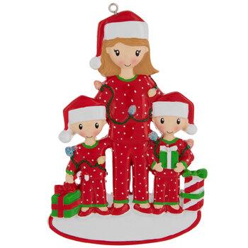 Mom & Children Personalized Ornament