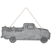 Galvanized Truck Metal Wall Decor