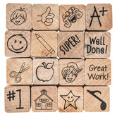 School Days Rubber Stamps