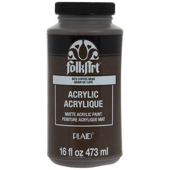 Coffee Bean Acrylic Paint - 16 Ounce