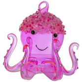 Pink Octopus Ornament