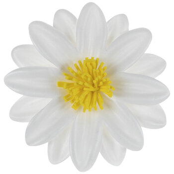 Yellow & White Daisy Adhesive Wall Decor