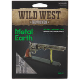 Wild West Revolver Metal Model Kit