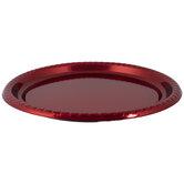 Metallic Round Tray