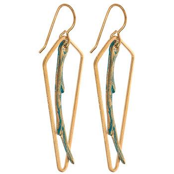Geometric Branch Earrings