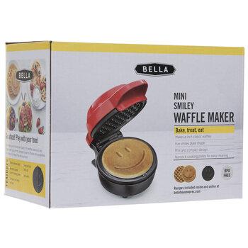 Mini Smiley Waffle Maker