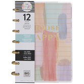 2021 - 2022 Painterly Pastels Mini Happy Planner - 12 Months