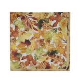 Fall Leaves Foil Napkins - Small