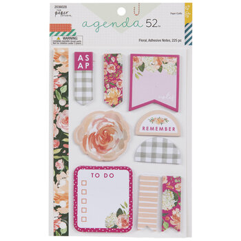 Farmhouse Floral Sticky Notes