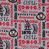 Ohio State Allover Collegiate Fleece Fabric