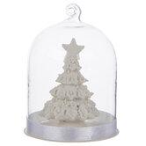 Christmas Tree Dome Ornament