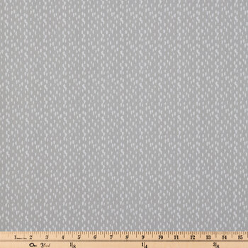 French Gray Riverbed Duck Cloth Fabric