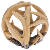 Antler Decorative Sphere