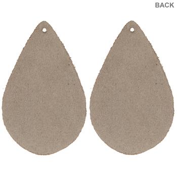 Camo Teardrop Leather Blanks