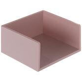 Pink Square Memo Pad Holder