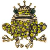 Prince Frog Rhinestone Brooch