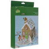 Gingerbread House 3D Foam Craft Kit