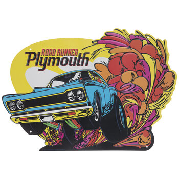 Plymouth Road Runner Metal Sign