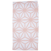White & Pink Modern Stars Kitchen Towel