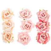 Pink Beautiful Life Prima Flower Embellishments